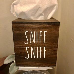 Farmhouse Rustic Tissue Kleenex Box Cover